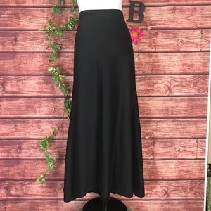 Camille La Vie Skirt 16 Black Maxi Formal Wedding
